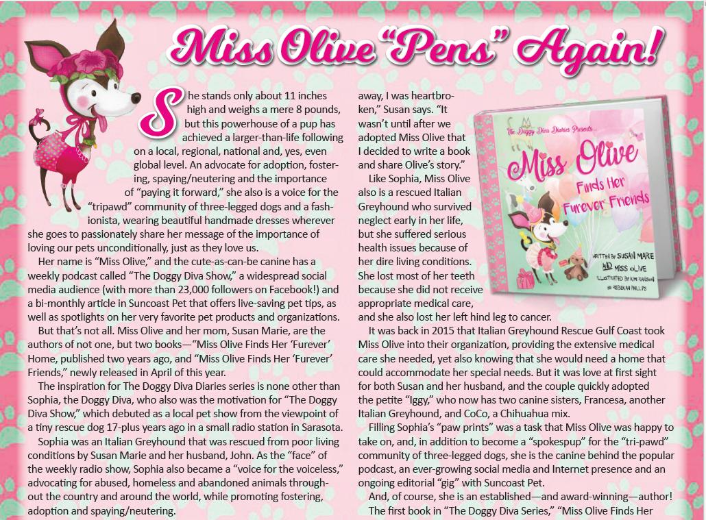 "Miss Olive Finds Her ""Furever"" Friends"